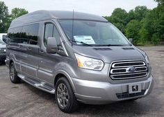 Explorer Van - Photo Gallery - Ford Transit - Sterling Grey Hightop EXT with NY Hyper silver fade