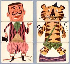 Mixies vintage circus game