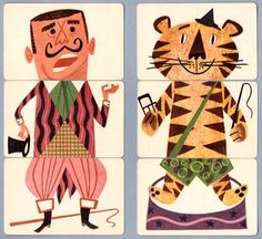 Mixies vintage circus game