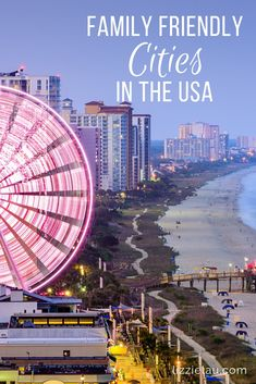 Considered one of America's best family vacation spots, you won't run out of fun things to do in Myrtle Beach with kids. via Considered to be one of America's best family vacation spots, you won't run out of fun things to do in Myrtle Beach with kids!