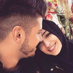 Find images and videos about love, couple and islam on We Heart It - the app to get lost in what you love. Couples Musulmans, Couples Muslim, Muslim Family, Couples Images, Romantic Couples, Muslim Women, Muslim Brides, Romantic Weddings, Disney Wedding Dresses