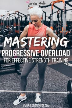 Progressive Overload Training for Women to Build Muscle