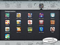 Consonantly Speaking's Favorite iPad Apps to Use in Speech-Language Therapy Sessions 2012 Edition: Part 2