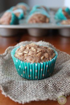 Oatmeal Apple Muffins.