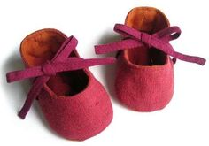 Lalashoes Felt Baby Shoes are Simple Yet Colorful #babies trendhunter.com