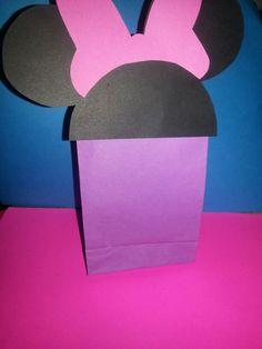 Bolsita de papel para dulces minnie mouse