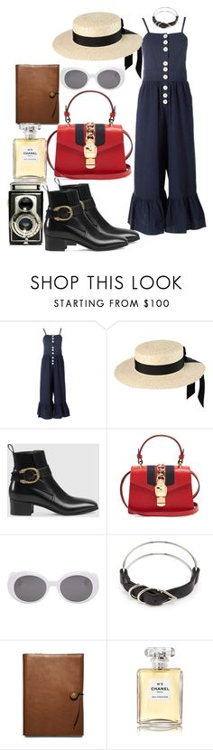 """""""Untitled #671"""" by veronice-lopez ❤ liked on Polyvore featuring See by Chloé, Mich Dulce, Gucci, Yves Saint Laurent, Alexander Wang, Coach, Chanel and vintage"""