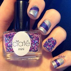 I bought this Ciate Caviar set and I love it! Caviar Nails, Beauty Makeup, Hair Beauty, Queen Nails, Nail Swag, Nail Stuff, Cute Nail Designs, Gorgeous Nails, Claws