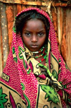 borana girl, ethiopia