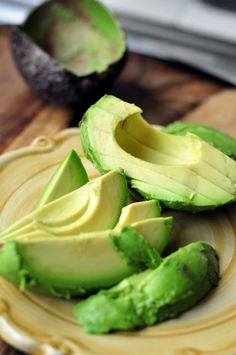 Avocado - the perfect food - - I use avocados in salads, on burgers, sandwiches, just with some lime and kosher salt as a side. In so many things.