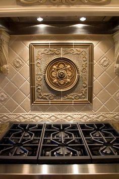 excellent sanoma tiles backsplash: stunning montrachet medallion
