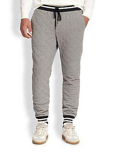 moncler grey sweatpants