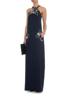 Art Nouveau embellished gown | Christopher Kane | MATCHESFASHION.COM US
