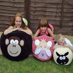 Personalised bean bag - Melvin Monkey - PetitePeople, bean bag