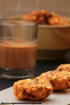 Parippu vada is a very tasty South Indian snack made with bengal gram dal.  It tastes great with tea.
