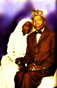 The Honorable Elijah Muhammad (PBUH) & His Wife, sister Clara Muhammad.