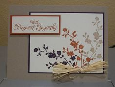 Sympathy Card by cmk7471 - Cards and Paper Crafts at Splitcoaststampers