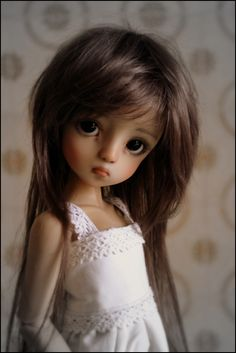 JpopDolls.net::Dolls::Linda Macario Dolls::Light Tan Agathe Resin Doll by Linda Macario (PREORDER)