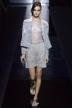 Blanca Padilla – Giorgio Armani Show at Milan Fashion Week, September 2016