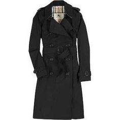 Still my favourite numero Uno: Absolutely LOVE LOVE LOVE. Burberry Black Trench Coat