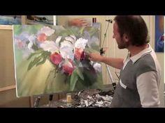Учимся писать орхидеи Орхидеи МК И. Сахарова - YouTube