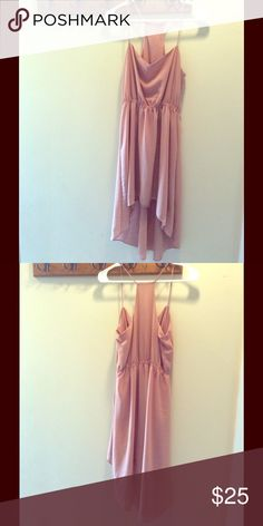 High Low Flow Summer Dress Peach Pink Medium. High Low Flow Summer Dress Peach Pink. Size medium. Excellent used condition. All tags removed. Dresses High Low