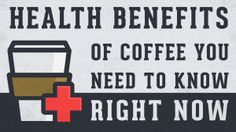 11 Health Benefits of Coffee You Need to Know Right Now Coffee Good For You, Coffee Facts, Coffee Health Benefits, Unbelievable Facts, For Your Health, Hot Coffee, Need To Know