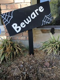 Young and Crafty: Beware Yard Stake