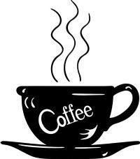 coffee cup. little surpirse by my desk