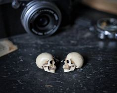 Skull Cufflinks  Chic Hand made skull cuff by GothChicAccessories, $36.00