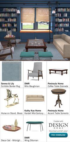 Created with Design Home! Sofa, House Design, Table, Design Ideas, Home Decor, Settee, Decoration Home, Room Decor, Tables