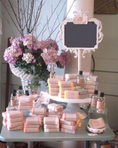 Souvenirs de Jabón: para fiestas de 15 años, bodas, etc