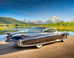 1960 Cadillac Eldorado Seville - the prettiest fins sport cars sports cars cars vs lamborghini Cadillac Eldorado, Cadillac Ats, Retro Cars, Vintage Cars, Antique Cars, General Motors, Us Cars, Sport Cars, Rat Rods