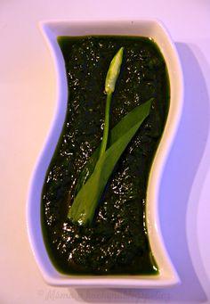 ♥ Máma v kuchyni ♥: Pesto z medvědího česneku (od 1 roku)
