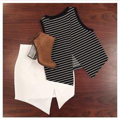 More goodies from @fox_maiden loving these easy styles looks... You just can't beat stripes shop the collection www.talulah.com.au #isla #ootd #gethelook #shoponline #flatlay #stripes #basics