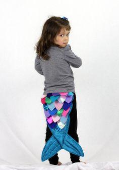 Mermaid Tail Kostüm - handgemachte Kinder Kostüm, Anzieh, Kinder, Halloween