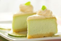 Key Lime Pie: Chock-full of surprising ingredients like Greek yogurt and avocados, this key lime pie is healthier than the original.