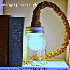Mason Jar Lighting DIY Jars