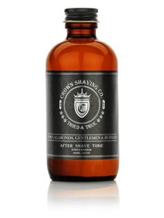 After shave tonic- splash some masculinity on!