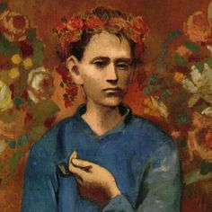 Boy with a Pipe (1905) by Pablo Picasso