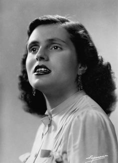 Amália Rodrigues (Portuguese Actress & Singer, 1920-99). Known as the 'Queen of Fado'