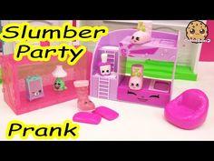 Slumber Party Pillow Prank Play Video of Shopkins Season 5 Exclusives , Cookieswirlc - YouTube