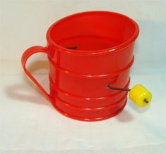 Vintage TOY Kitchen Flour SIFTER for Mama's Little Helper Buy it on Etsy by GypsySeller