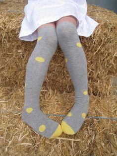 Kaylynn would love these!  Long socks - spot