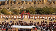 #Jaisalmer Desert Festival is a one-of-its-kind opportunity for anyone to experience Jaisalmer, the sandstone city, and the nearby areas at their magical best. #Rajasthan | #Festival | #India