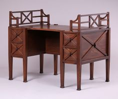 The McHugh Mission Furniture Co | partners Desk | Arts and Crafts