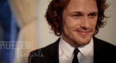 """Sam Heughan on His 'Outlander' Character Jamie Fraser – """"He's My Jamie"""""""
