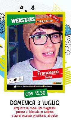 Francesco Posa al #cctorvergata #webstars
