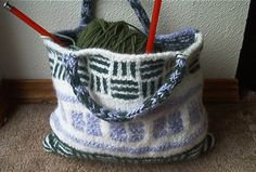Scrapilicious Mini Tote by OrangeFish1, via Flickr