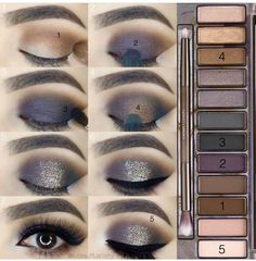 Gorgeous Makeup: Tips and Tricks With Eye Makeup and Eyeshadow – Makeup Design Ideas Eye Makeup Steps, Natural Eye Makeup, Eyeshadow Makeup, Makeup Brushes, Gray Eyeshadow, Makeup Eraser, Highlighter Makeup, Sephora Makeup, Make Up Tutorial Contouring